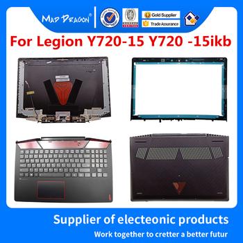 Oryginalny lcd tylna ramka zawias Plamrest główna osłona dolna etui na lenovo Legion Y720 Y720-15IKB Y720-15 5CB0N67199 5CB0N67285 tanie i dobre opinie MAD DRAGON Laptop sprawach Laptop Wymień Pokrywa Unisex Nie zamek Biznes Z tworzywa sztucznego Stałe