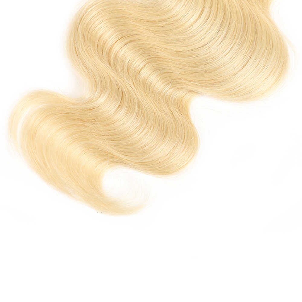 Эффектом деграде (переход от темного к блондинка 613 Цвет натуральные кудрявые пучки волос с закрытием кружева 4x4 X-TRESS объемная волна не Реми человеческие волосы плетение Инструменты для завивки волос для наращивания