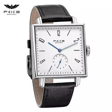Automatic Watch Mechanical-Watches Square FEICE Bauhaus Waterproof Unisex FM301 Analog