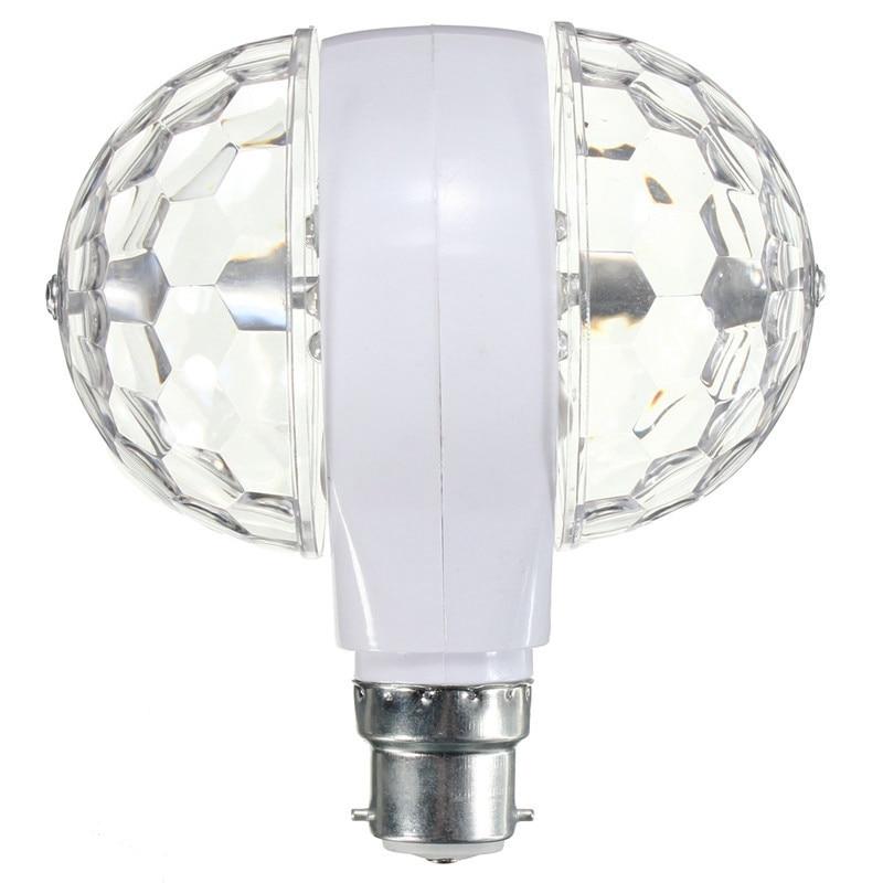 Светодиодный сценический светильник сценический эффект лампа светодиодный шар сценический AC85-265V светильник RGB светильник вращающийся для
