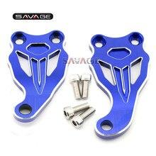 Curseur de support de moteur à cadre fixe, couverture CNC, accessoires de moto pour Yamaha MT-07, FZ-07, MT07 FZ07 2014-2020 15, 16, 17, 18