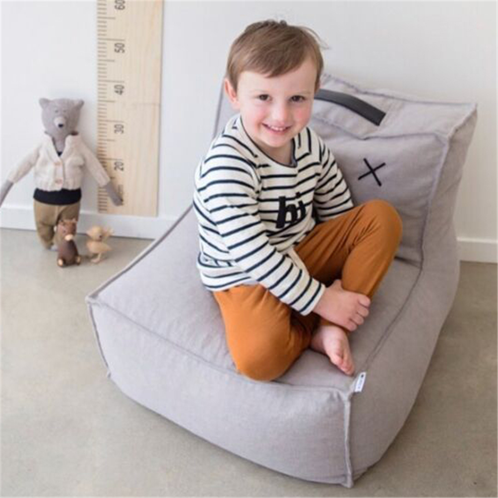 Inflatable Sofa Childrens Chair Home Decoration Backrest Sofa Single Person For Kids Seat Safety EPP Filling Cushion