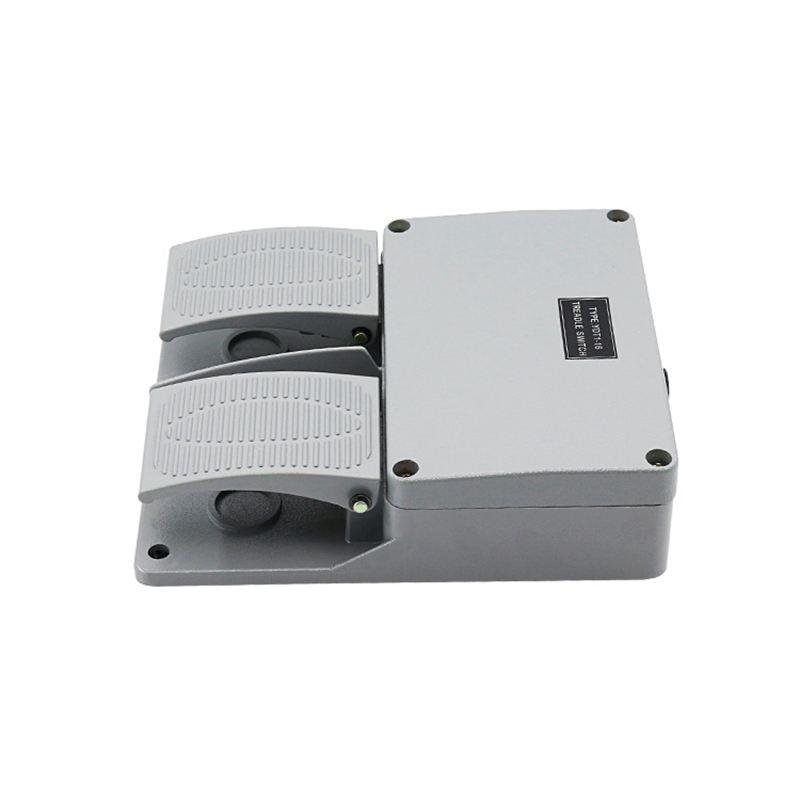 cinza pedal duplo interruptor máquina ferramenta acessórios interruptor