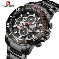 Luxury Brand NAVIFORCE Sport Watches Mens Fashion Waterproof Army Military Quartz Wrist watch Business Clock Relogio Masculino