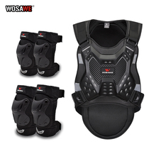 WOSAWE Adult Motorcycle Armor Chest Back Protector Body Armor Guard Racing Body Protector Armor Jacket Motocross Protective Gear wosawe motorcycle armor jacket motocross body protector ghost racing riding moto protective guard armor chest back protection