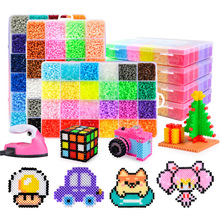 24 / 72 Colors 5mm hama Beads/ Iron Beads diy Puzzles 2.6mm Education Beads 100% Quality Guarantee perler Fuse beads diy toy