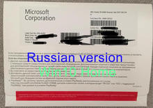 Windows 10 Pro clave versión OEM caja 64bits DVD COA de la licencia de Win 10 casa profesional Microsoft OS 7 (10 unids/lote)