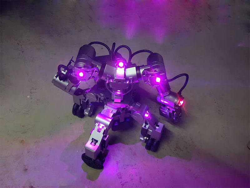 Scientific-High-Tech-Toys Mech-Robot Programmable Humanoid Fighting Boxing Intelligent
