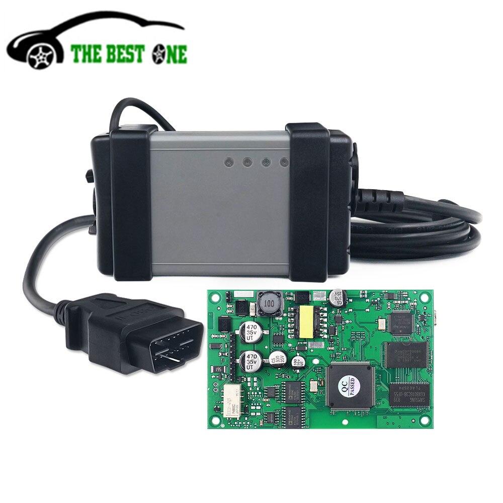 Лидер продаж Vida Dice 2015A новые модели OBD2 автомобильный диагностический инструмент 2014D VXDIAG Vida Dice Pro полный чип зеленая плата бесплатная доставк...