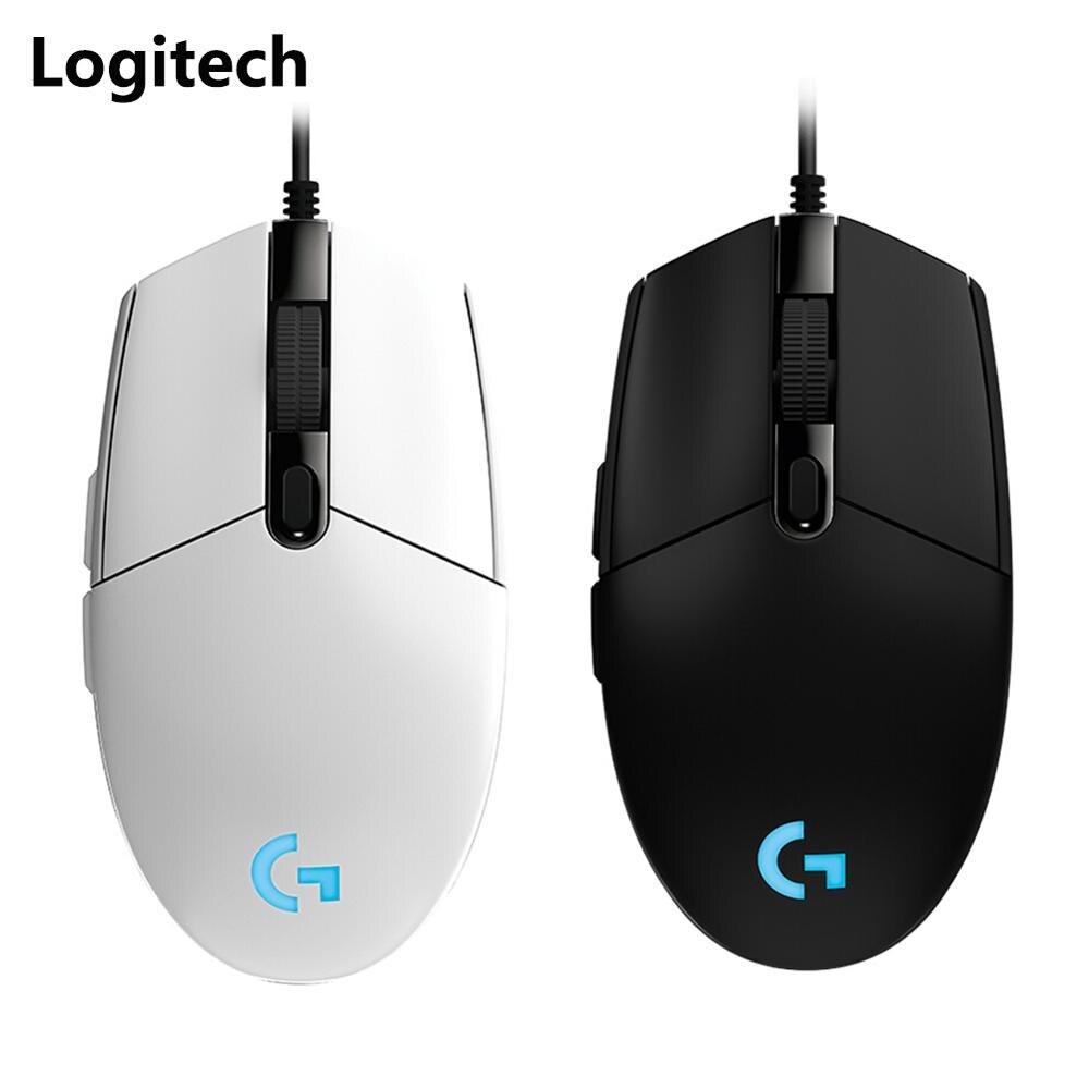 Игровая мышь Logitech G102, регулируемая, 8000DPI, RGB, программируемая, механическая, проводная мышь, игровая мышь для окна ноутбука|Мыши|   | АлиЭкспресс
