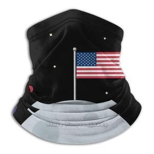 Apollo 11 США в Луне американский флаг США американский астронавт шарф бандана повязка на голову открытый альпинизм теплая маска для лица 4