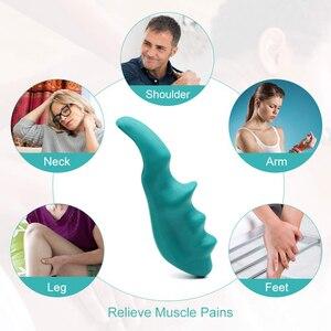 Image 2 - 1 adet masaj cihazı manuel başparmak masaj fizyoterapi küçük araçlar tam vücut derin doku tetik taşınabilir çok fonksiyonlu masaj