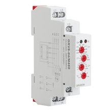 цена на GRV8-04 M460 3-Phase Voltage Monitoring Relay Phase Sequence Phase Failure Protection Voltage Control Relay