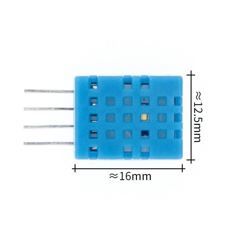 Цифровой датчик температуры и влажности DHT11 DHT22 AM2302 AM2301 AM2320 датчик и модуль для Arduino электронный DIY - Цвет: DHT11 sensor