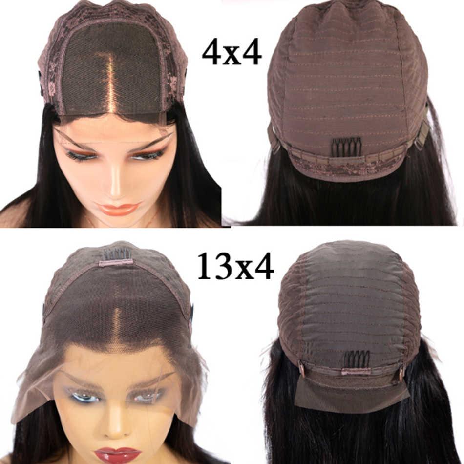 人毛ウィッグ 150% 密度 13 × 4 ストレートボブのレースのフロントかつら Shireen 髪マレーシアレースフロント人毛かつら