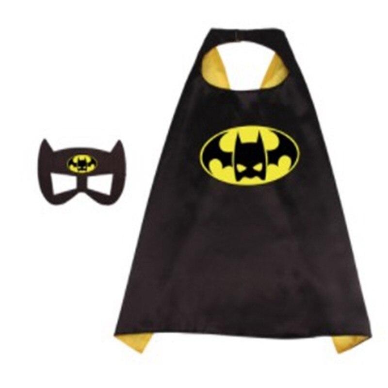 Avengers:Endgame Cosplay Super Hero Children's Double-layer Printed Cloak Kid's Superhero Gift Halloween Costume Accessories