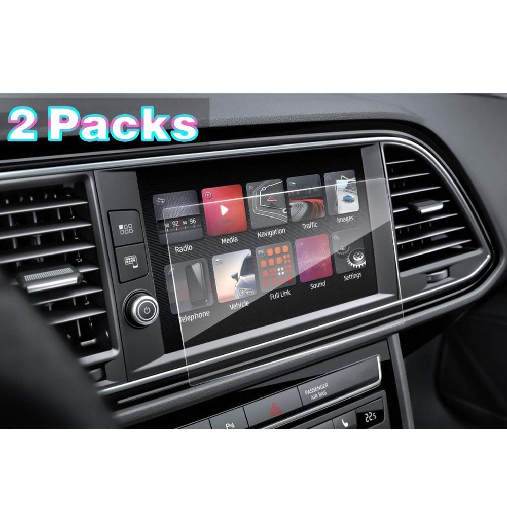 RUIYA 2pcs PET protetor de tela para Seat Leon ST SC 5F/Cupra Leon 5dr 300 Link Completo 8 polegada centro de navegação do carro toque didsplay