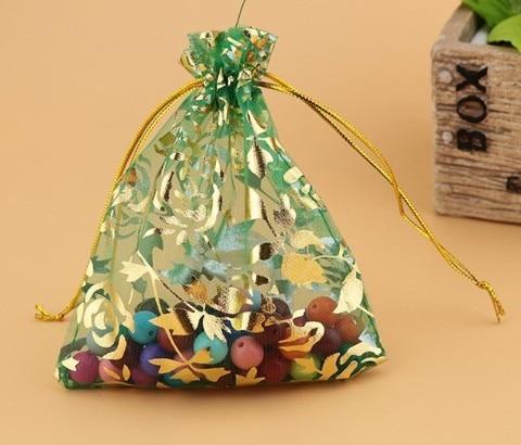 Bolsas de Presente de Cordão de Tamanho Bolsa de Presente de Malha Favor do Casamento Malotes de Organza Chá de Fraldas Multi Doces Bolsas Weddy Favor Mod. 138621