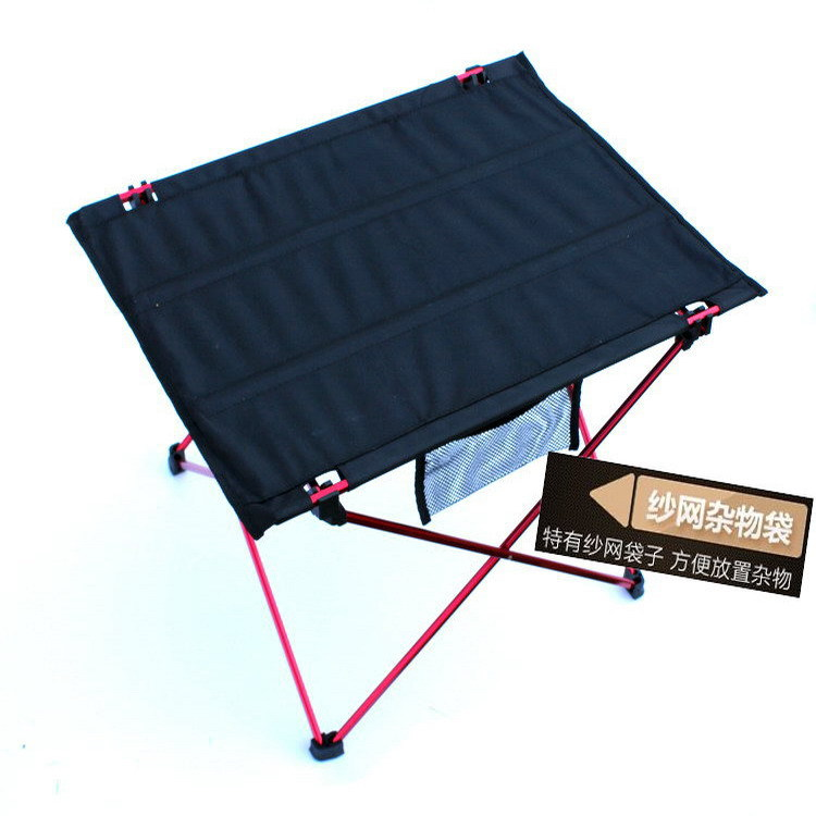 Outdoor Folding Tables And Chairs Ultra-Light Aluminum Alloy Folding Table Portable Stall Table Outdoor Picnic Tables And Chairs