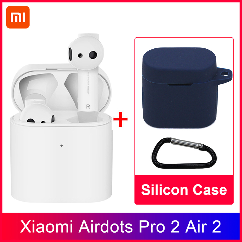Xiao mi mi Airdots Pro 2 TWS Bluetooth Kopfhörer mi Air 2 Drahtlose Kopfhörer Smart Voice Control LHDC HD Sound tap Control ENC