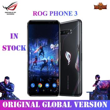 ASUS ROG Phone 3 Global Version Gaming Phone Snapdragon865plus 8/12/16RAM 256/512ROM 6000mAh 144HZ 2SIM Card 5G ROG 3 Smaerphone