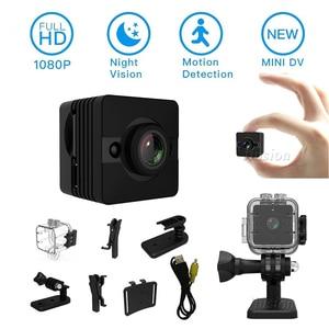 Image 5 - HD 1080P Mini Camera Motion Sensor Night Vision Wide Angle Video Recorder Micro Cam Spot Water Resistant Secret Camcorder SQ12
