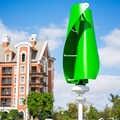 R & x 400 w verde do ce do gerador de turbina eólica baixo rpm eixo vertical energia alternativa windmil 12 v/24 v silencioso para hoem streetlight