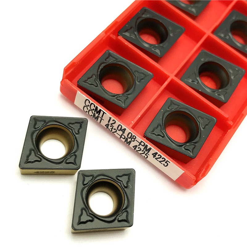 Carbide Inserts CCMT120408 PM 4225 External Turning Tool Lathe Tools High Quality CCMT 120408 PM4225 Turning Insert