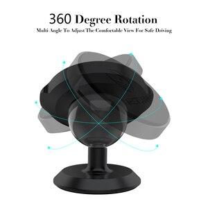Image 3 - Metrans מגנטי מכונית טלפון בעל עבור iPhone 360 תואר סיבוב האוויר Vent מחזיק רכב הר טלפון Stand suporte celular paracarro