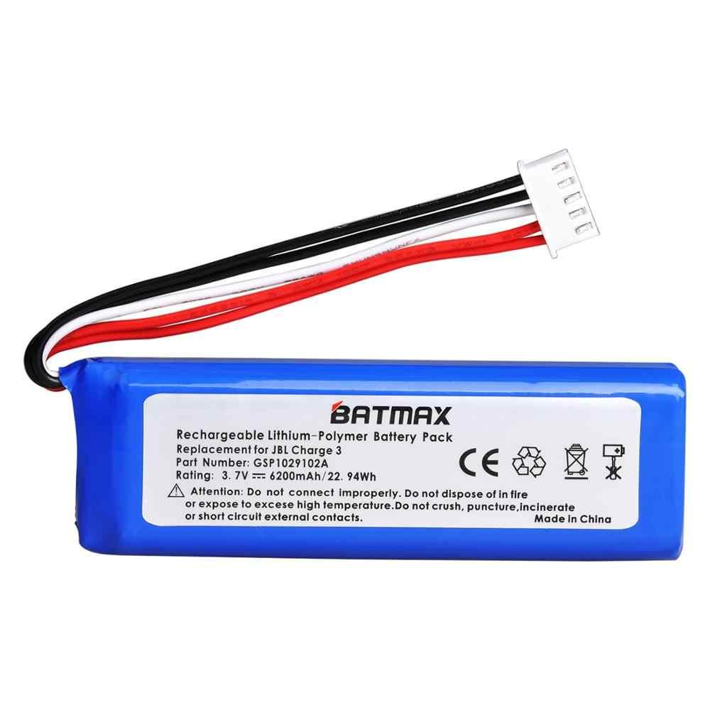 3.7V 6200 MAh Pin BATERIA GSP1029102A Cho Loa JBL Charge 3