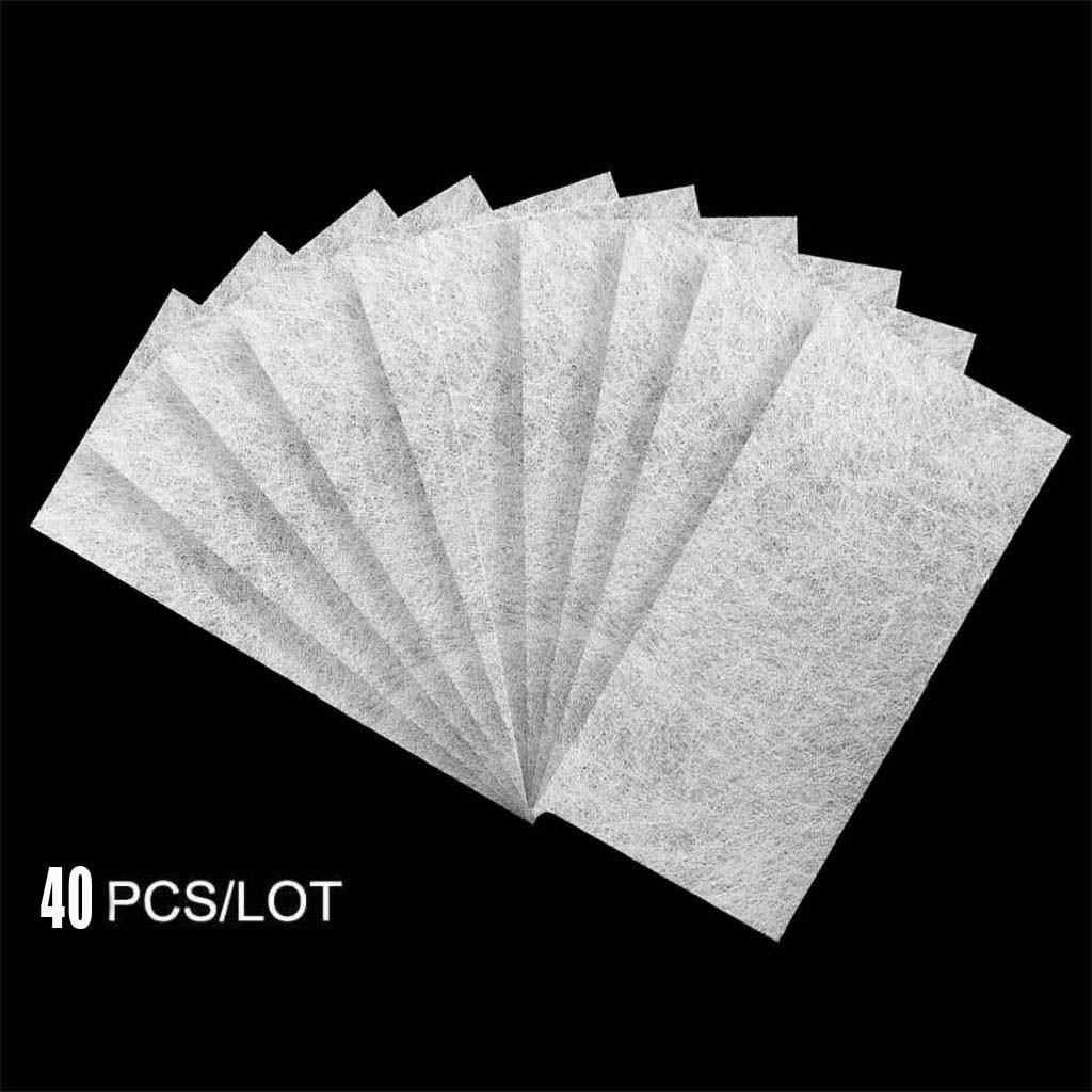 40PC Fibernails Fiber Glass To Acrylic Nail Salon FIBERGLASS NAIL FOR EXTENSION Nail Gel Polish Cheaper