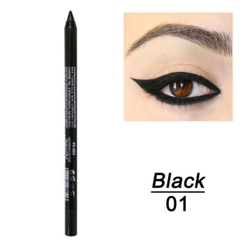 1 шт. стойкий карандаш для глаз водостойкий 14 цветов карандаш для глаз карандаш для век косметические инструменты для макияжа оптом TSLM2 - Цвет: 01