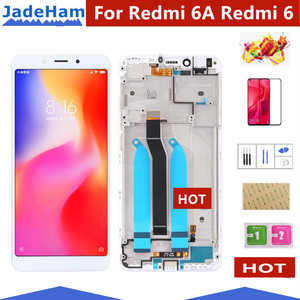 Image 1 - Original 5.45 LCD For XIAOMI Redmi 6A LCD Touch Screen For Redmi 6A Display Digitizer For Redmi 6 LCD Display Touch Screen