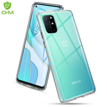 Luxury Transparent Shockproof Phone Case For Oneplus 8T 9 pro 5G TPU Bumper Anti-drop For Nord N10 With Scratch Proof Hard Back