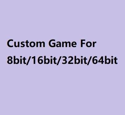 Süper özel oyun kartuşu için MD ve 72 pins N8 oyun konsolu 64 Bit oyun konsolu