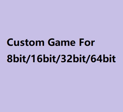 Super Custom Game Cartridge For MD And 72 Pins N8 Game Console 64 Bit Game Console
