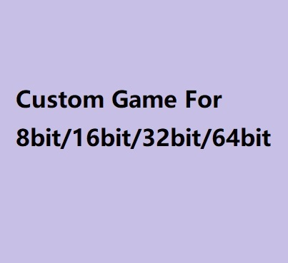 Super Custom Game Cartridge Voor Md En 72 Pins N8 Game Console 64 Bit Game Console