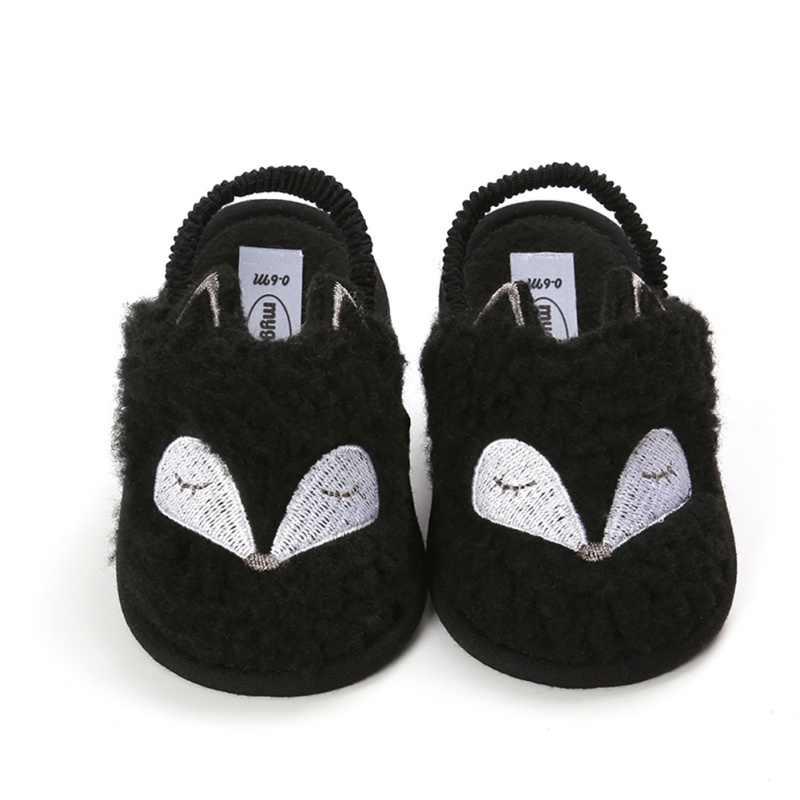 Kleinkind Herbst Winter Casual Erste walker Schuhe Weiche Sohlen Lamm haar Schuhe Kleinkind Super Warm Halten Anti-slip Baby shoses
