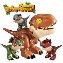 Q парк и мир Юрского Периода Динозавры для мини Экшн фигурки