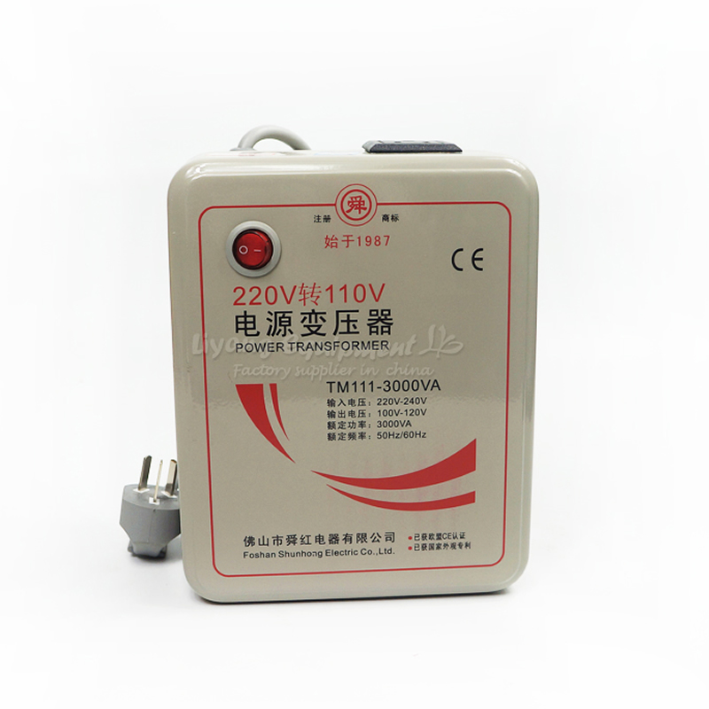 500W 1000W 3000W Transformer 110V To 220V Or 220V To 110V Voltage Converter