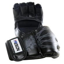 Перчатки для бокса Hurricane Half Finger, тренировочные ММА мешки с песком, перчатки для взрослых, Санда, каратэ, тайские защитные перчатки для тхэквондо, тренировочное оборудование