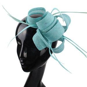 Женский красивый свадебный вуалетный головной убор для невесты, элегантный модный головной убор для вечеринки и ужина, женские аксессуары ...