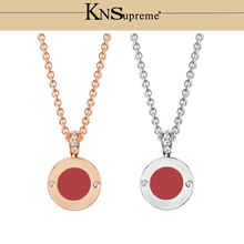 KN Bulgaria necklace 1:1 Original 100% 925 Sterling Silver Women ceramics Free Shipping Jewelry High-end Quality Gift Have logo