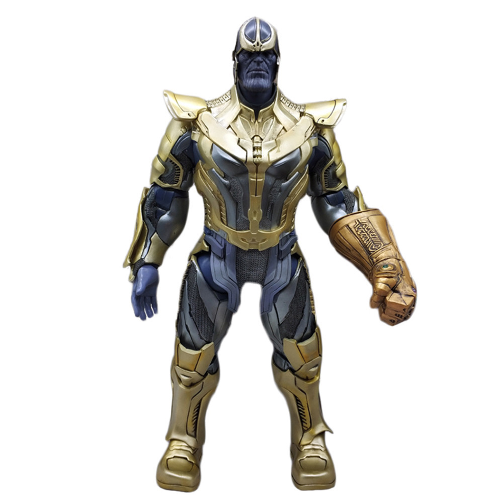 HC Marvel Legends Avengers Infinity War Thanos Action Figure Infinity Stones Pvc 36cm Movie Model Collection Toys