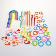 Braided Gadget Set Plastic Knitting Needle Locking Pin Plastic Marking Household