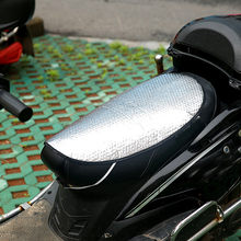 Motorcycle Electric Bike Seat Cover Cushion Scooter Sunscreen Pad Insulation Sun Pad Heat Reflective Cushions(China)