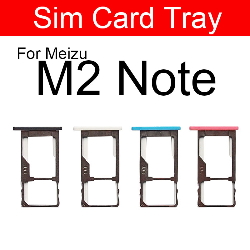 <font><b>SIM</b></font> Card <font><b>Tray</b></font> Holder Adapters For <font><b>Meizu</b></font> Meilan Note2 <font><b>M2</b></font> <font><b>Note</b></font> M571c Micro <font><b>Sim</b></font> Reader Card Slot Socket Repair Replacement Parts image