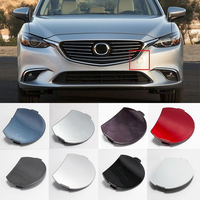 Tapón de parachoques delantero para coche Mazda, cubierta de gancho de remolque, OEM, GW2F-50-A11, para Mazda Atenza, 6, 2017, 2018