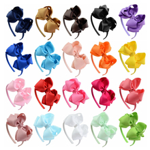 Big Bow Knot Baby Girls Headband Cute Bows Knot Hairbands Kids Hair Accessories Girls Head Bands Children Headwear Gifts high elasticity baby sweet hairbands mesh bow knot headband girls lovely princess crown hair accessories cute elastic head wrap