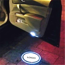 Welcome-Door-Lights Led-Logo-Projector Ghost-Shadow Car-Styling JXF 2PC Universal